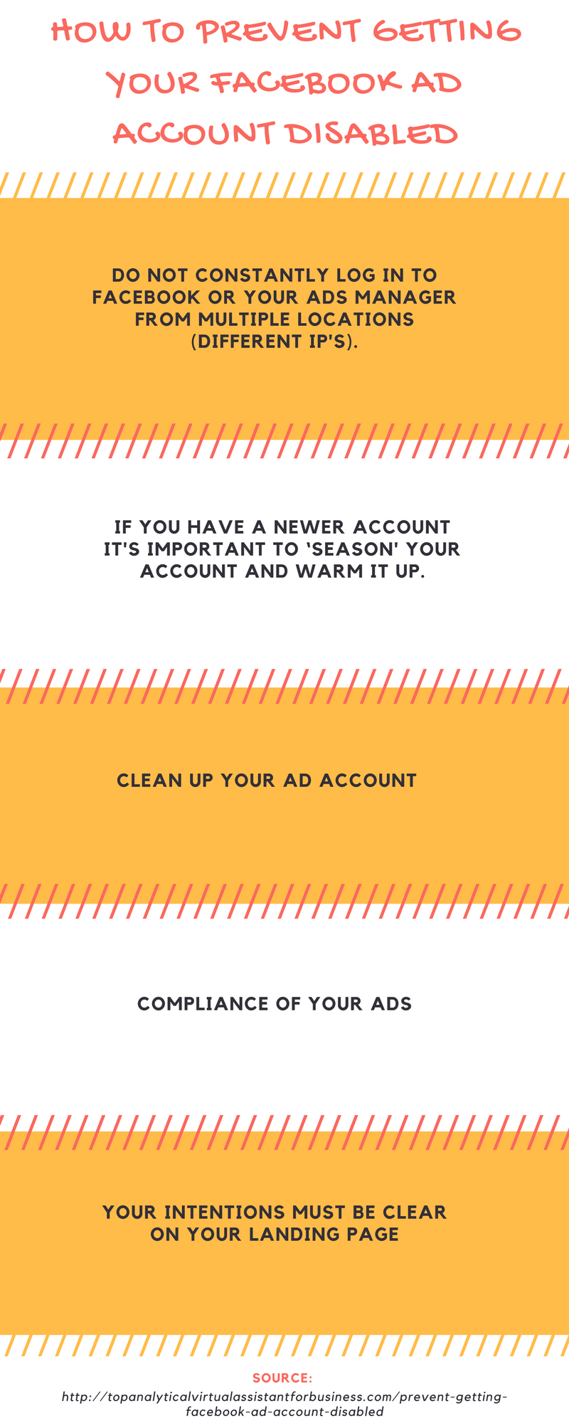 How To Prevent Getting Your Facebook Ad Account Disabled - Your